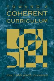 Cover of: Toward a Coherent Curriculum (1995 ASCD Yearbook)