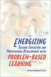 Cover of: Energizing Teacher Education and Professional Development With Problem-Based Learning