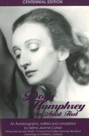 Cover of: Doris Humphrey