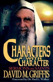 Cover of: Characters with character