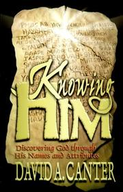 Cover of: Knowing Him