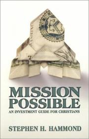 Cover of: Mission Possible | Stephen H. Hammond