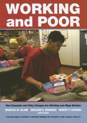 Cover of: Working and poor
