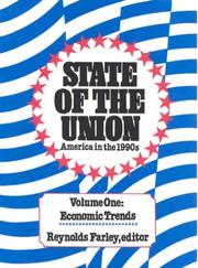 Cover of: State of the Union: America in the 1990s