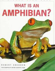 Cover of: What is an amphibian?