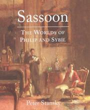 Sassoon by Peter Stansky