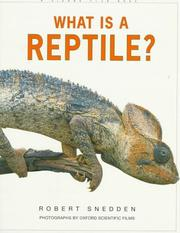 Cover of: What Is a Reptile? (What is)