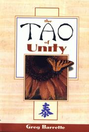 Cover of: The Tao of Unity |