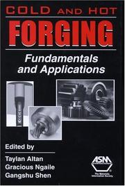 Cover of: Cold And Hot Forging |