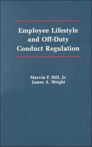 Cover of: Employee lifestyle and off-duty conduct regulation