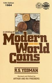 Catalog of Modern World Coins 1850 1964