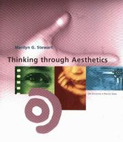 Cover of: Thinking Through Aesthetics