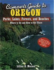 Cover of: Camper's guide to Oregon