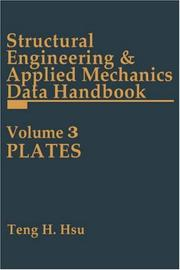 Cover of: Structural Engineering and Applied Mechanics Data Handbook, Volume 3