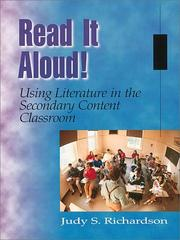 Cover of: Read It Aloud! Using Literature in the Secondary Content Classroom