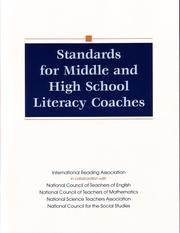 Cover of: Standards for middle and high school literacy coaches |
