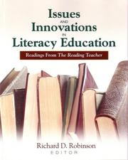 Cover of: Issues and innovations in literacy education