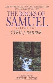 The Books of Samuel by Cyril J. Barber