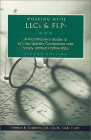 Cover of: Working with LLCs & FLPs