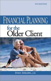 Cover of: Financial Planning for the Older Client