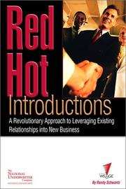 Cover of: Red Hot Introductions