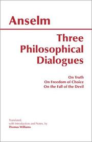 Cover of: Three Philosophical Dialogues