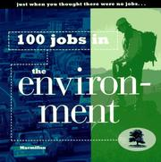 Cover of: 100 jobs in the environment