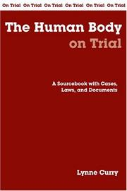 Cover of: The human body on trial