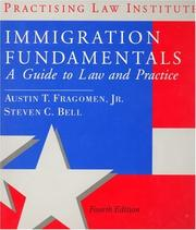 Cover of: Immigration fundamentals