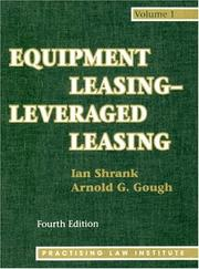 Cover of: Equipment Leasing Leveraged Leasing (Melrose Square Black American Series)
