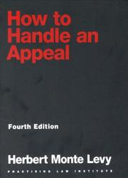 Cover of: How to handle an appeal