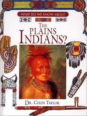 Cover of: The Plains Indians