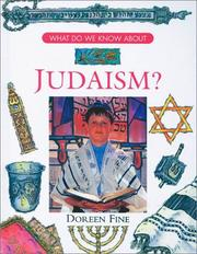 Cover of: What do we know about Judaism? by Doreen Fine