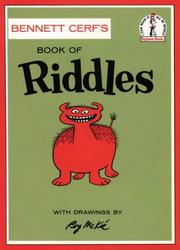 Cover of: Book of riddles