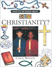 Cover of: Christianity | Carol Watson