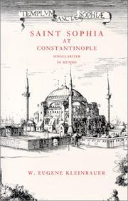Cover of: Saint Sophia at Constantinople