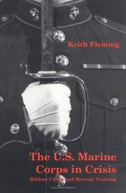Cover of: The U.S. Marine Corps in Crisis
