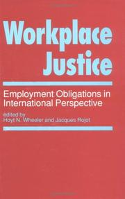 Cover of: Workplace justice