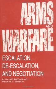 Cover of: Arms and warfare | Michael Brzoska