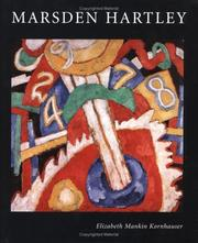 Cover of: Marsden Hartley | Elizabeth Mankin Kornhauser