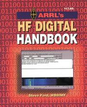 Cover of: Arrl Hf Digital Handbook