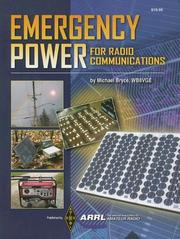 Cover of: Emergency Power