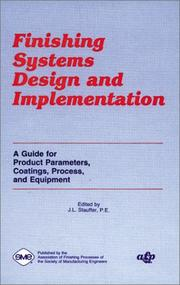 Cover of: Finishing Systems Design and Implementation