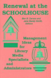 Cover of: Renewal at the Schoolhouse: