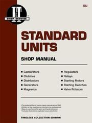Cover of: Standard Units Repair and Specs |