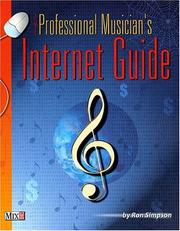 Cover of: The Professional Musician