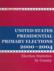 United States presidential primary elections, 2000-2004 by Rhodes Cook