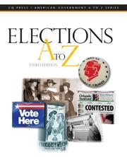 Cover of: Elections A to Z (Elections a to Z) (Elections a to Z)