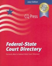 Cover of: Federal-state Court Directory