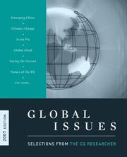 Cover of: Global Issues 2007: Selections from the Cq Researcher (Global Issues: Selections from the CQ Researcher)